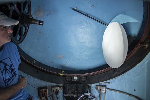 blue sun solar vermont telescope convention astronomy porter turret sunspots stellafane 2013