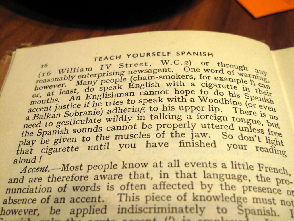Teach yourself Spanish | duncan c | Flickr