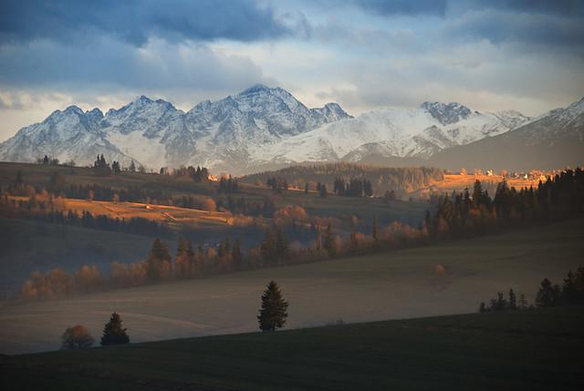 Tatra Mountains - View from Miętustwo