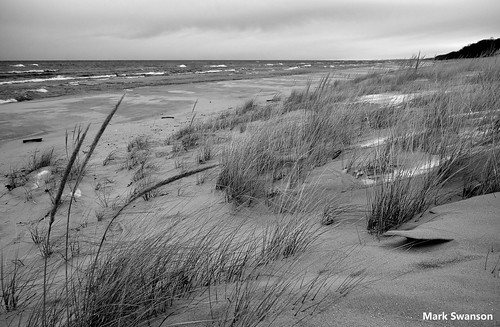 white lake snow seascape black fall beach nature grass clouds landscape blackwhite sand nikon exposure waves michigan dunes stjoseph lakemichigan greatlakes driftwood lakeshore polarizer circular d5100