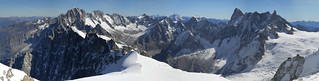 Panorama vue de l'aiguille du midi | by glassonlaurent