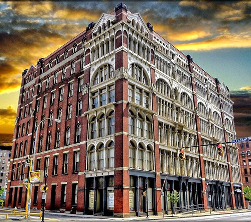 "sky ny building architecture clouds facade sunrise iron gothic dramatic style architectural historic rochester warehouse architect h cast warner commercial laboratory l historical venetian medicine p rogers attraction patent county"" nrhp ""monroe onasill"