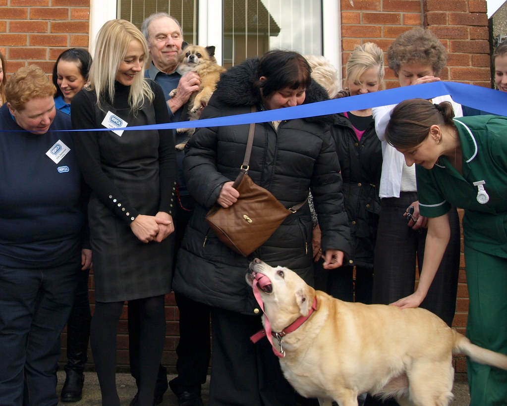 Opening the newly refurbished Preston RSPCA/My Vet clinic