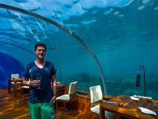 Ithaa Undersea Restaurant | by wesbran
