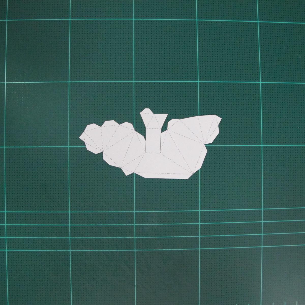 วิธีทำโมเดลกระดาษตุ้กตา คุกกี้สาวผู้ร่าเริง จากเกมส์คุกกี้รัน (LINE Cookie Run – Bright Cookie Papercraft Model) 002