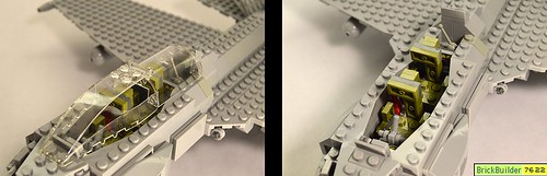 Fighter Jet (cockpit comparison) | by BrickBuilder7622