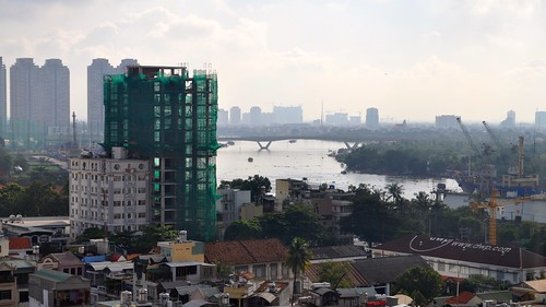 District 1, Ho Chi Minh City from Asian Ruby Hotel # 1, Vietnam | by David McKelvey