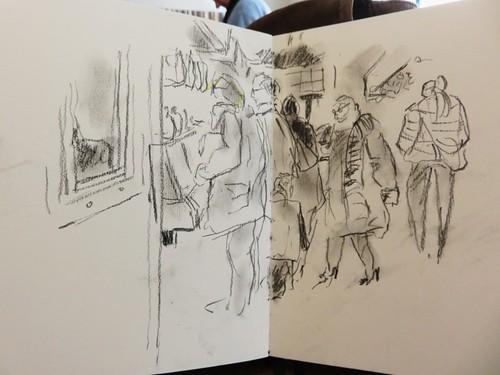 46e sketchcrawl 2015 01 31  045 (Copier) | by Marie France B