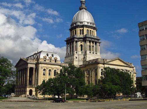 Springfield Illinois Construction Began On The Illinois