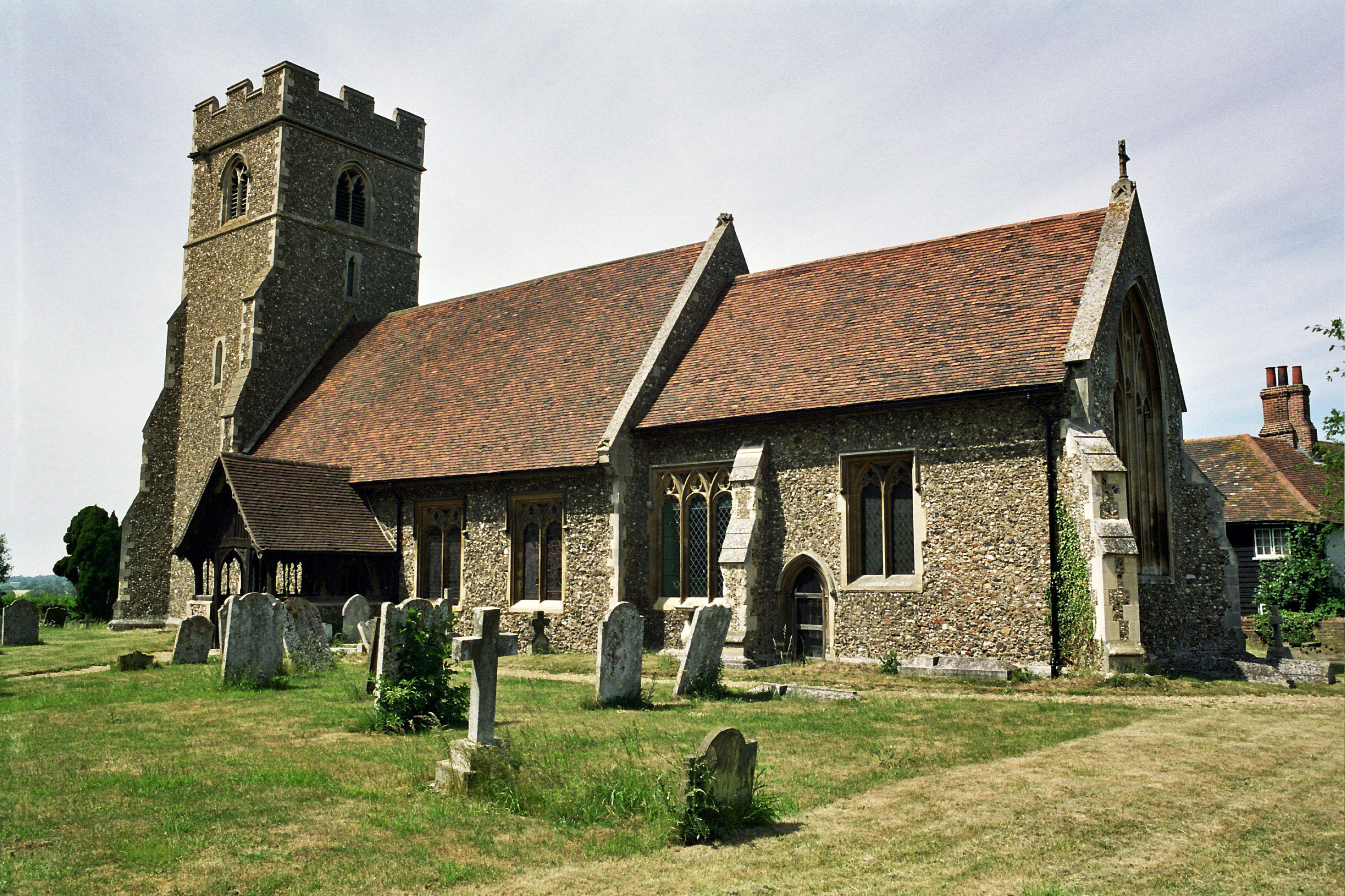 WILLINGALE, St Christopher, Essex (Gary Southwell)