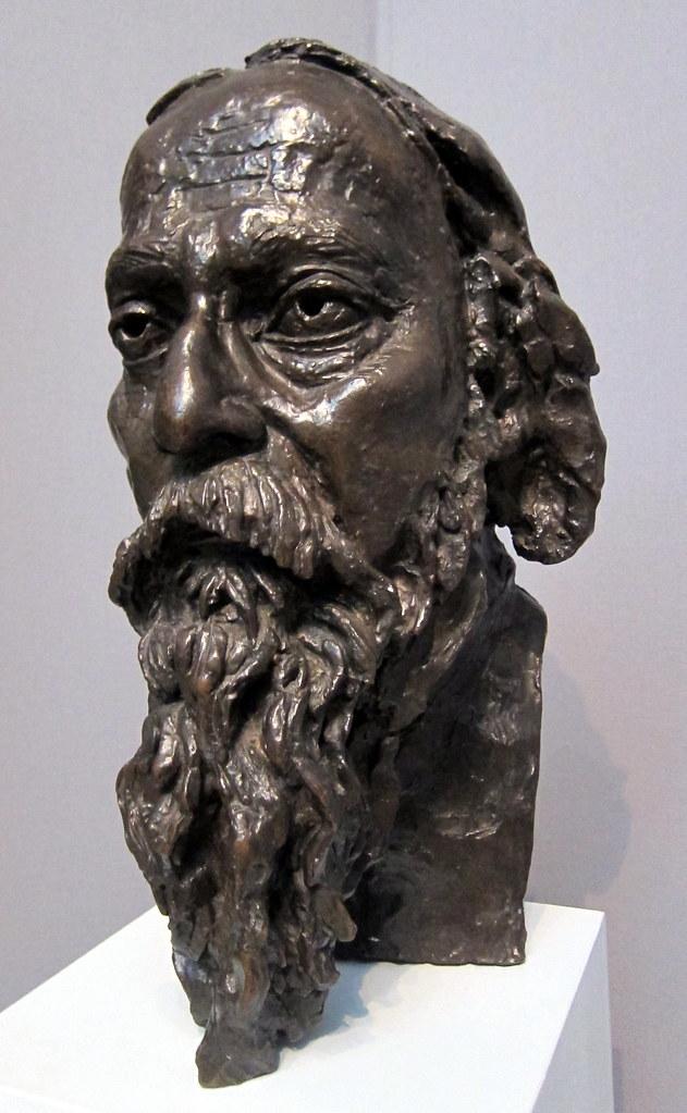 tagore sculpture bronze epstein