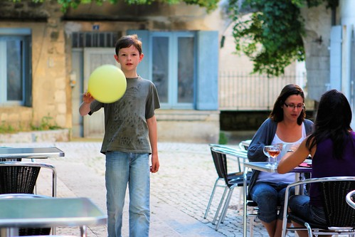 Silas ambling with balloon_5210 | by FeistyTortilla