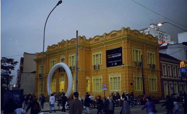 2001 Franco Mazzucchelli, mostra personale, Museo d'Arte Contemporanea Curitiba, Brasile