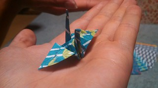 Gru Origami della Pace | by Marco Taddia' s Eye