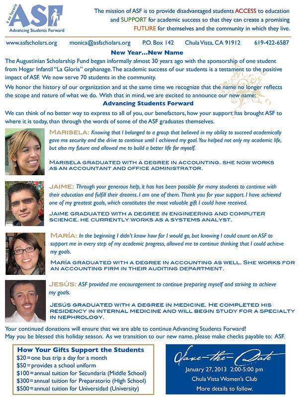ASF Newsletter 2012 B