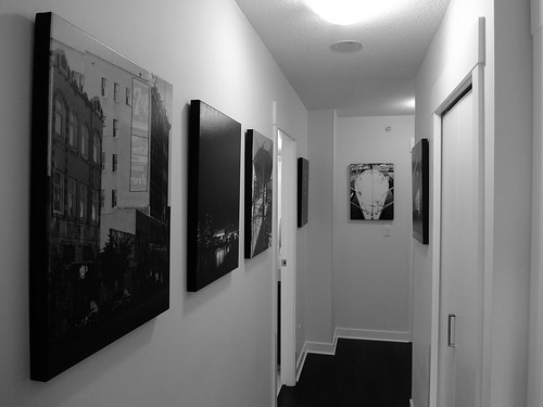 Hallway As Art Gallery   by Reg Natarajan