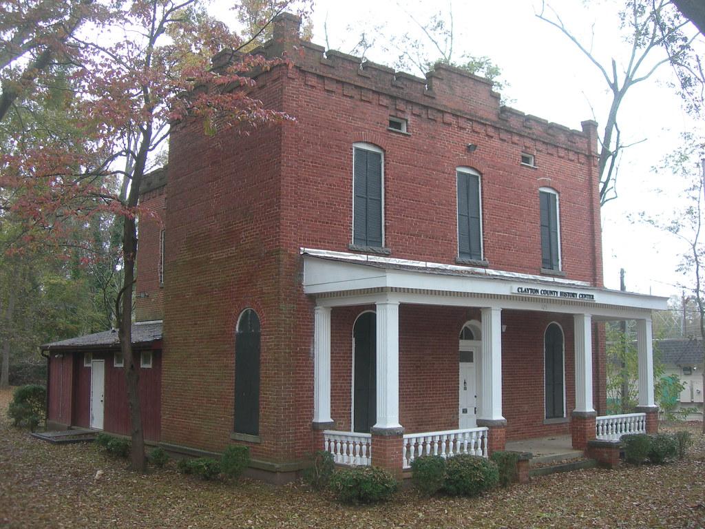Old) Clayton County Jail   Jonesboro, Georgia Constructed i