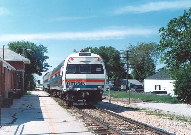 Ex-Metroliner Cab Control Car #9800