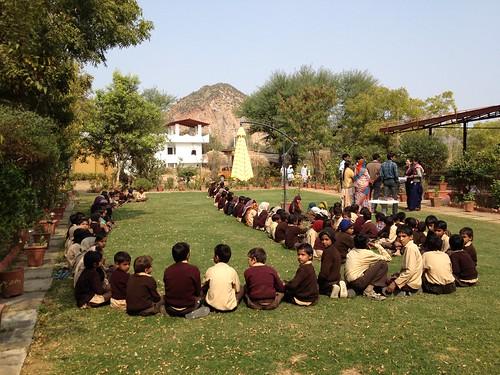 School visit to Achrol Bagh