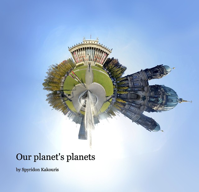 Berliner Dom 360 degrees planet - Our planets planets photobook cover
