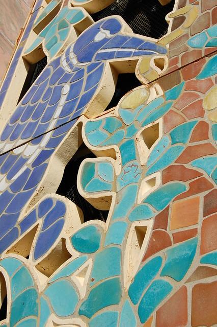 Tile grilles, designed by J.H. Dulles Allen