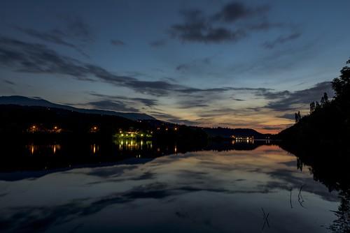 sunset water clouds twilight nikon dam d750 tamron pancharevo tamron2470vc 2470vc nikond750