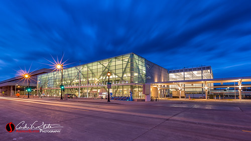 road city longexposure wisconsin architecture clouds sunrise canon landscape us unitedstates trainstation transportation milwaukee mke leefilter discoverwisconsin travelwisconsin intermodalstation 5dmarkiii