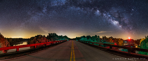 road street bridge light panorama color colors lines yellow night river way georgia stars spiral photography frames highway colorful shot pano south southcarolina panoramic double astro galaxy pollution carolina augusta shooter savannah spencer middle milky stitched aiken bawden