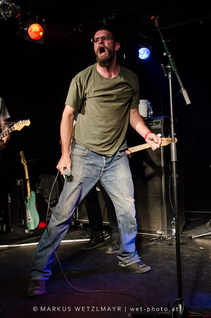 """US Punk Rock band SWINGIN' UTTERS playing live as main act at OKH, Vöcklabruck, Austria on July 06, 2013.  NO USE WITHOUT PRIOR WRITTEN PERMISSION.  © Markus Wetzlmayr 