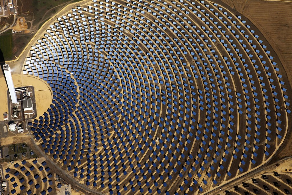 PS20 solar thermal power plant, Spain | The PS20 solar tower