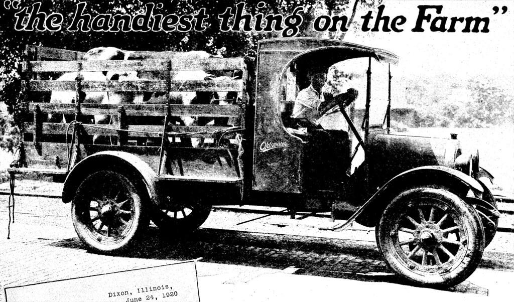 1920 Oldsmobile Truck | Don O'Brien | Flickr