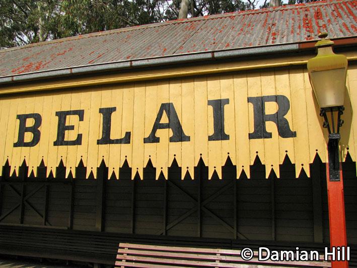 Belair Railway Station by baytram366