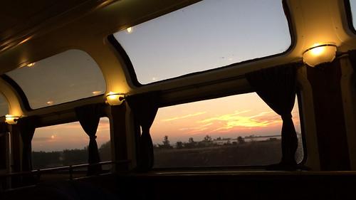 california railroad travel train sunrise photography us unitedstates rail railway trains amtrak coaststarlight iphoneography