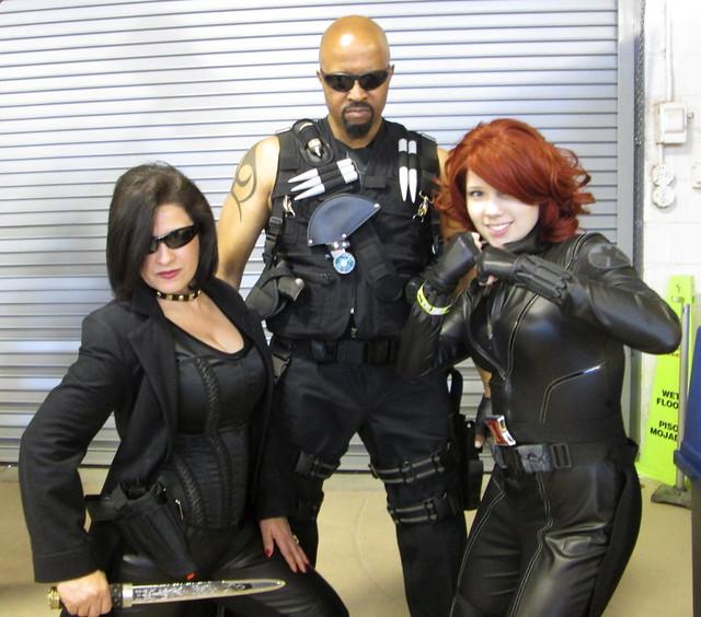 Lady Blade, Black Widow and Blade