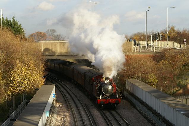 Steam on the Uxbridge Branch (4)