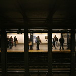 Subway stop, 59th St.