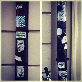 #stickers #stickerbomb #stickerswap #stickerslaps #stickerart #stickerporn #streetart #slaps #slaptag #slaptags #slaptagging #graffslaps #graffitislaps #graffiti #graffitistickers #urbanart #basel #baselstickers