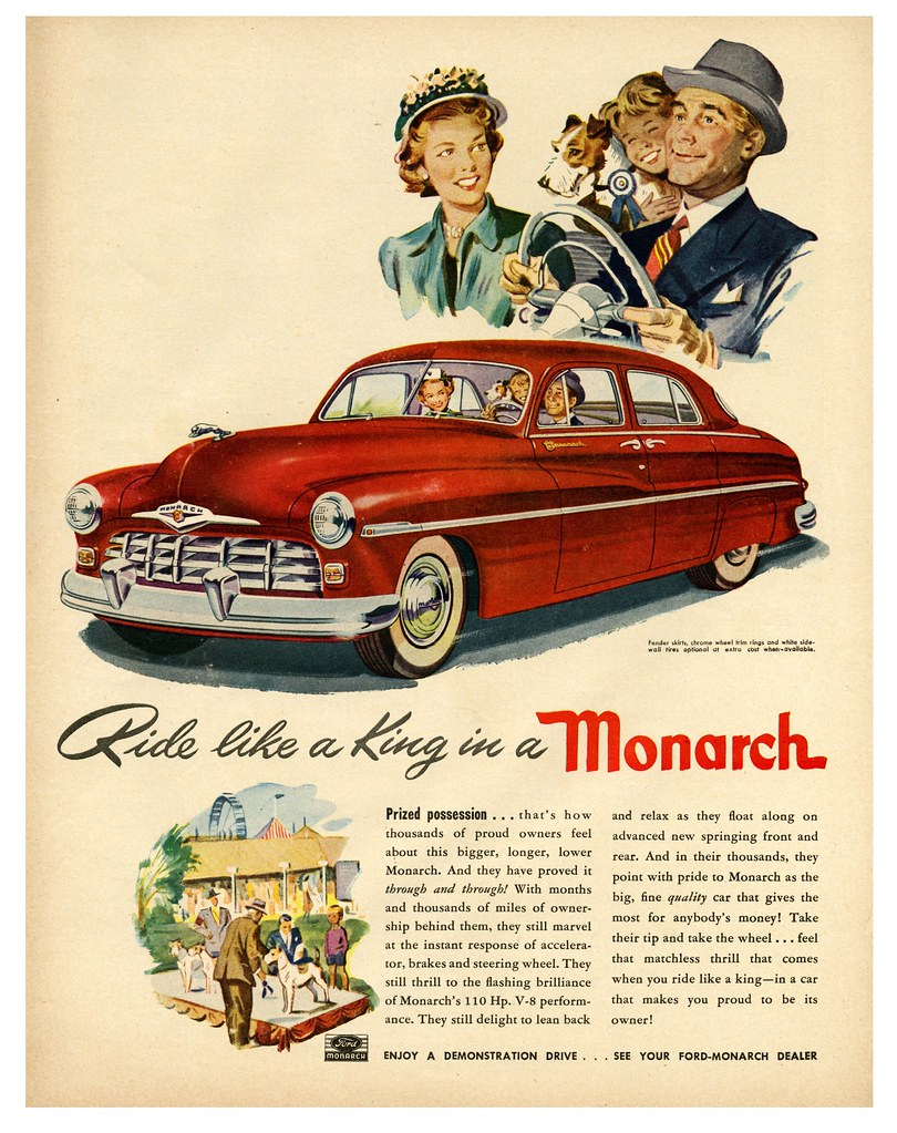 The Family Monarch At The Wheel