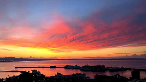 morning light sea sky sun clouds sunrise islands spain scenery mallorca palma majorca baleares balearicislands balearic peterch51