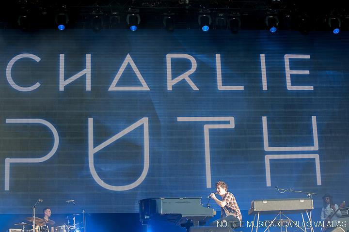 Charlie Puth - Rock in Rio Lisboa '16