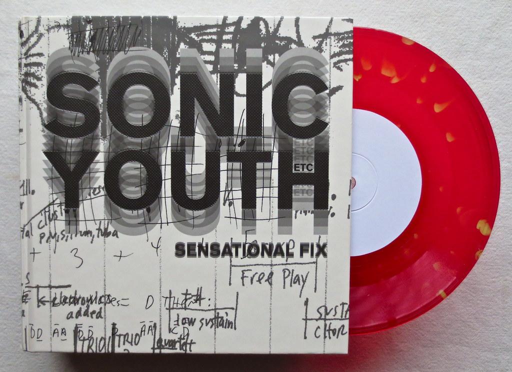 Sonic Youth 2009 SENSATIONAL FIX 7 inch Vinyl Record Singl