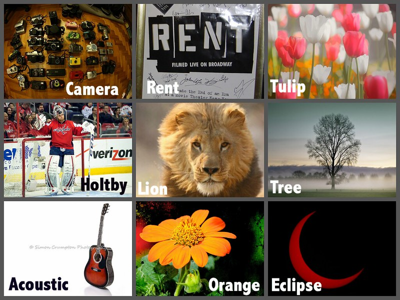 Acrostic Poem Collage