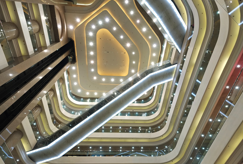 """""""the shopping labyrinth"""" by hugo poon - one day in my life"""