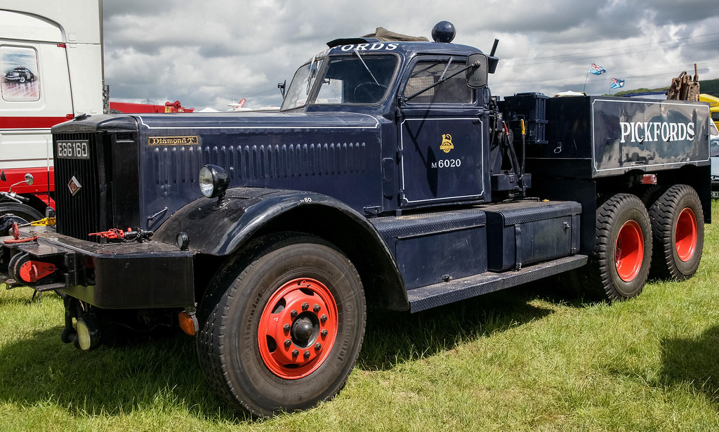Diamond T Truck William Hitchmough Flickr