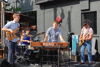 Band at Big on Bloor 2013