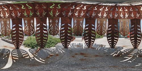 sculpture art nevadamuseumofart panoramicphotography equirectangular circularpatternrectified 360photography vrimaging