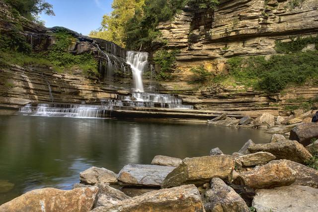 Cummins Falls, Blackburn Fork, Cummins Falls State Park, Jackson County, Tennessee 2