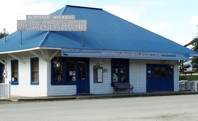 northwest-territories-visitor centre dawson city