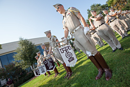 Aggie Band March-In 2
