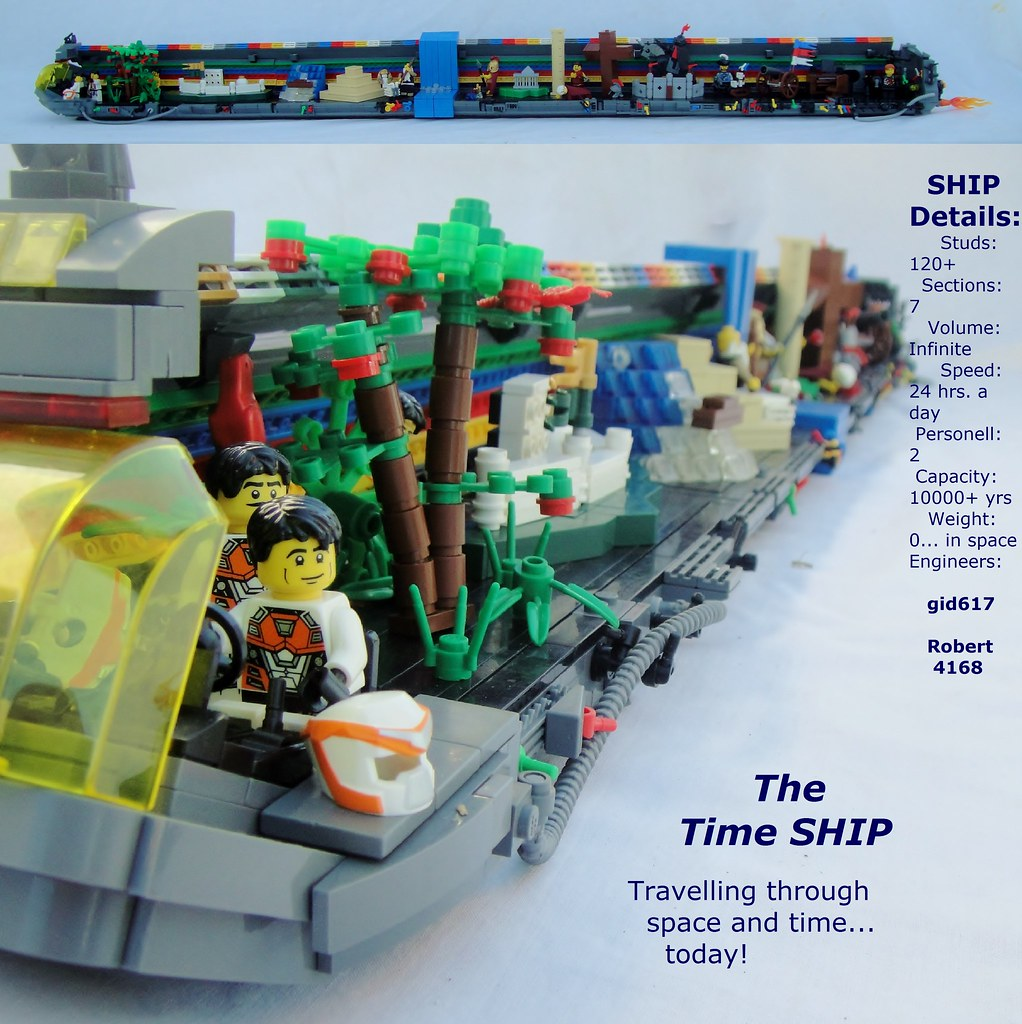 The Time SHIP - The H I S  Tory | The Time SHIP - going thro